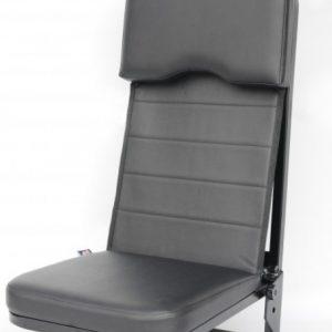 Fotel załogi Guardian™ firmy TEK Military Seating jest budżetowym rozwiązaniem fotela załogi dostępnym z pasem bezpieczeństwa lub 4-punktową uprzężą.