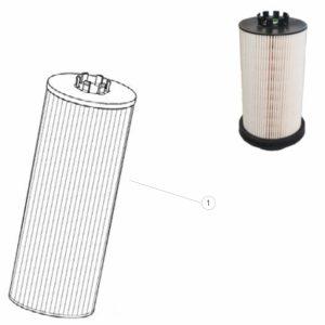 Wkład filtra paliwa PFF5641-MERCEDES
