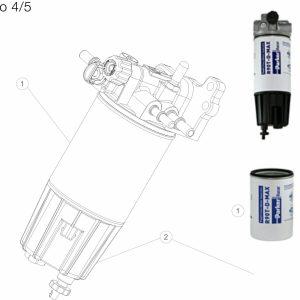 Parker Racor Filtr paliwa serii MD5760DTV30RCR - RENAULT EURO 4/5