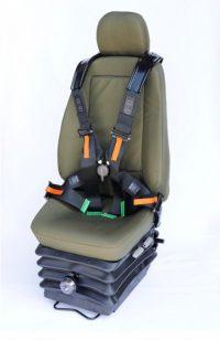 Fotel Dowódcy/Kierowcy z systemem antywybuchowym TEK ProTEK®