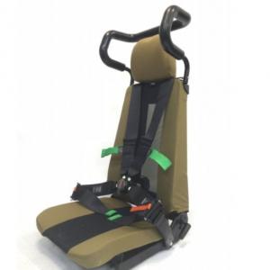 fotel dowódcy, fotel kierowcy do pojazdu wojskowego, tek mesh, TEK Mesh - Fotel Dowódcy/Kierowcy