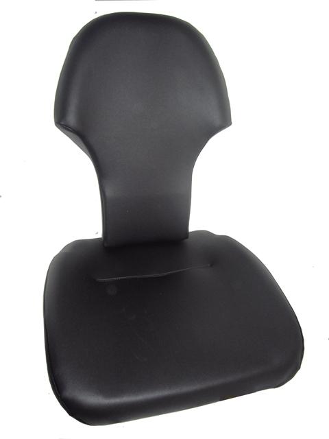 Siedzisko PVC Czarne fotela KAB P1