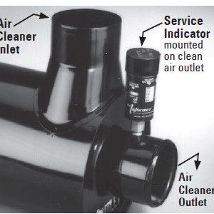 Donaldson Wskaźniki zanieczyszczenia filtra
