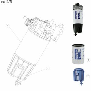 Parker Racor Filtr paliwa serii MD5760DTV30RCR - VOLVO EURO 4/5