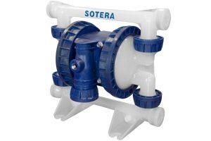 SOTERA Pompa membranowa zasilana sprężonym powietrzem Serii SP100