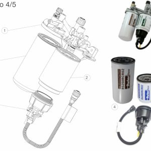 Filtr paliwa RENAULT EURO 4/5