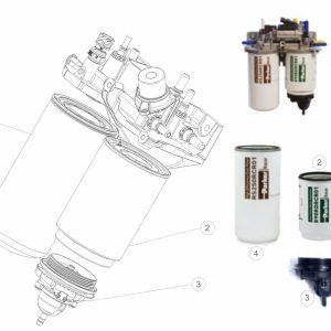 Filtr paliwa Renault Euro 6