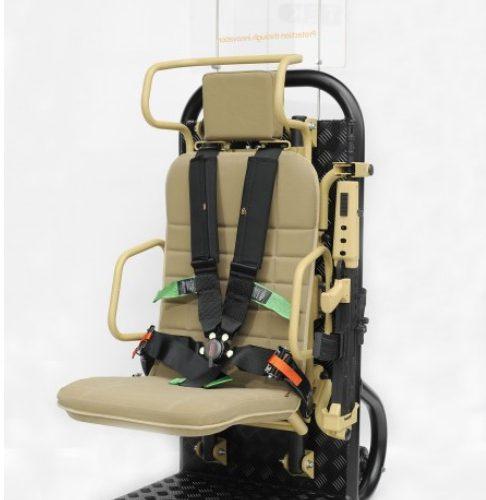 Fotel załogi z systemem antywybuchowym TEK ProTEK®