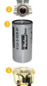 filtr paliwa ford euro 6
