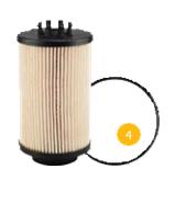 filtr paliwa MAN TGX