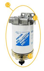 Filtr paliwa– SCANIA SERIA 4 / G / P / R / T EURO 4/5
