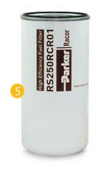 Wkład filtra paliwa – VOLVO FH 16, EURO 4/5